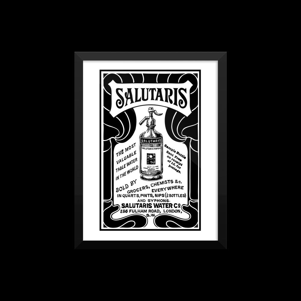 Salutaris Vintage Poster