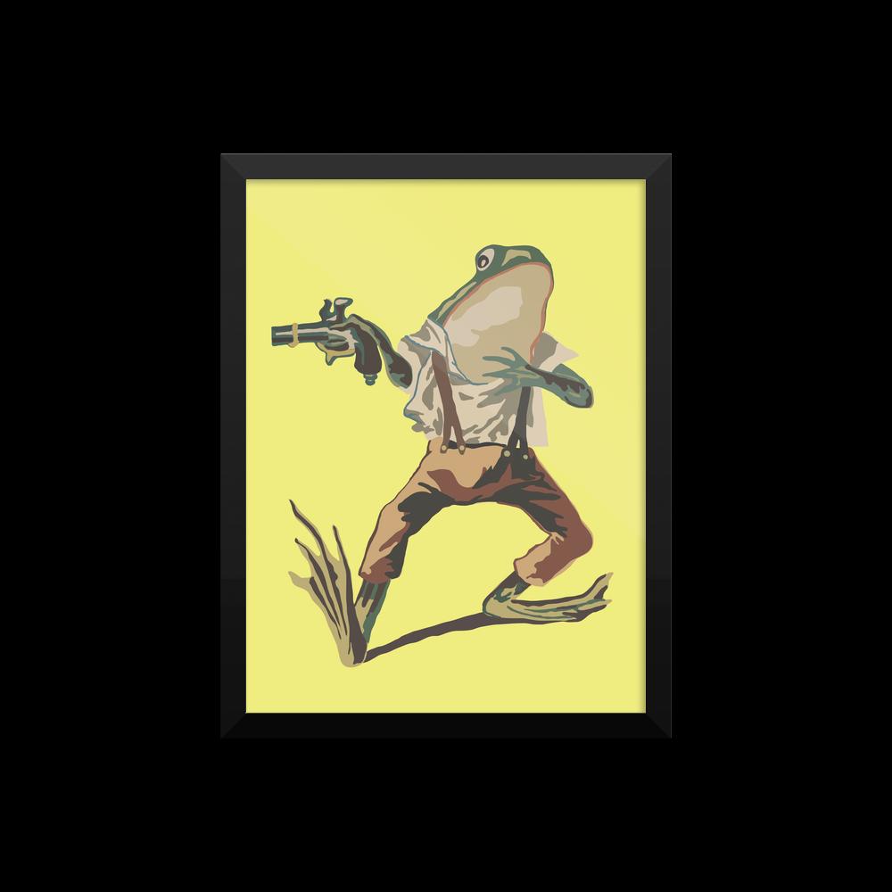 Western Frog Poster