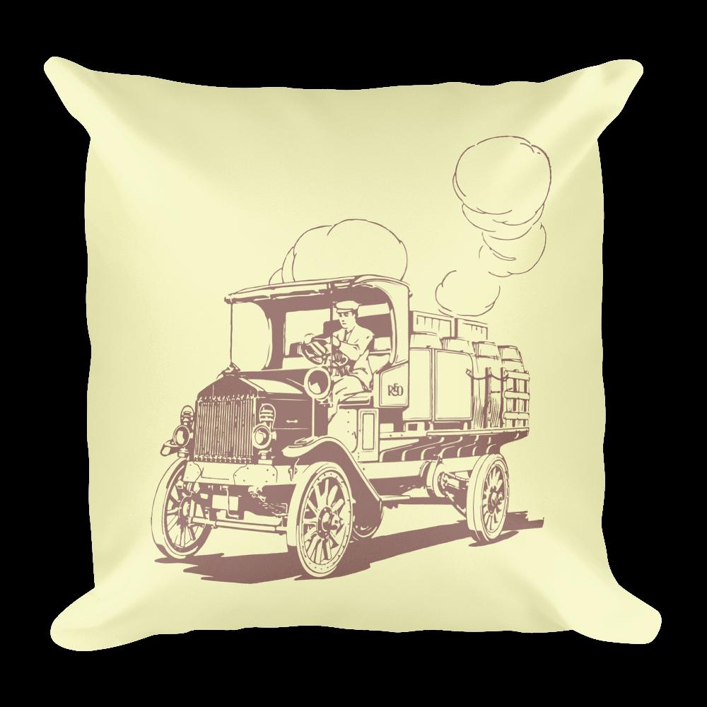 Vintage Truck Pillow