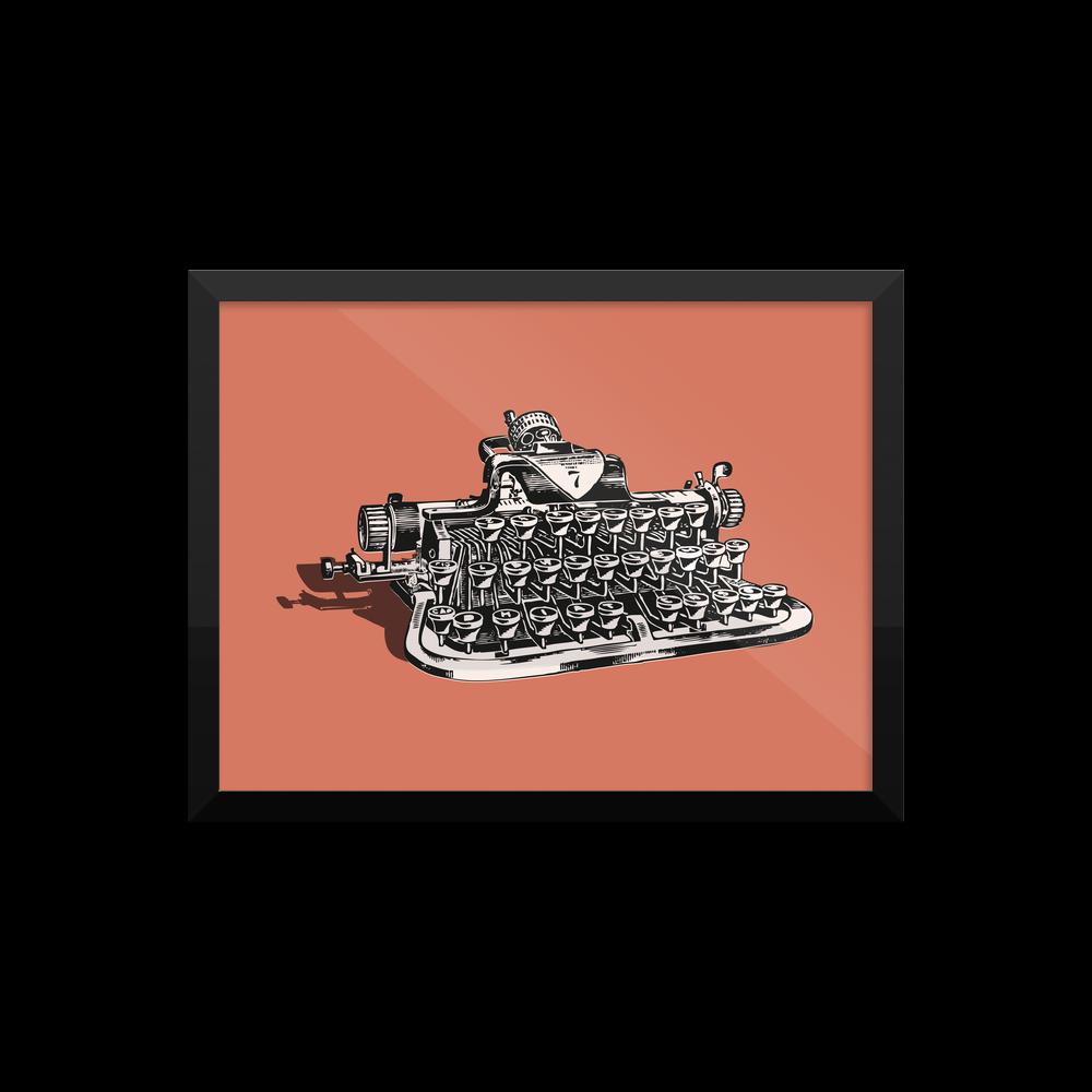 Typewriter Poster