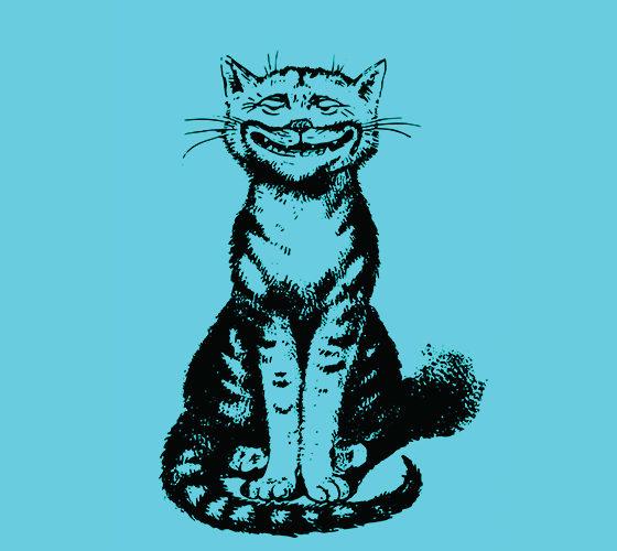 Vintage blue cat