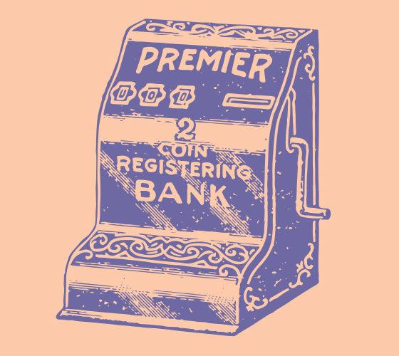 Vintage register 2