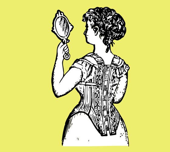 corset woman
