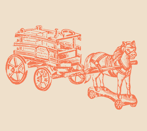Horse Carriage on wheels