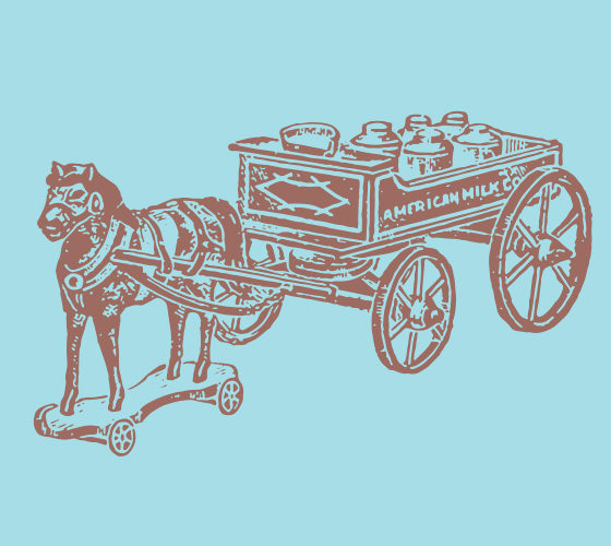 Horse Carriage on wheels 2