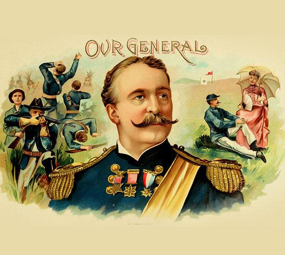 Vintage cigars advertising, our general