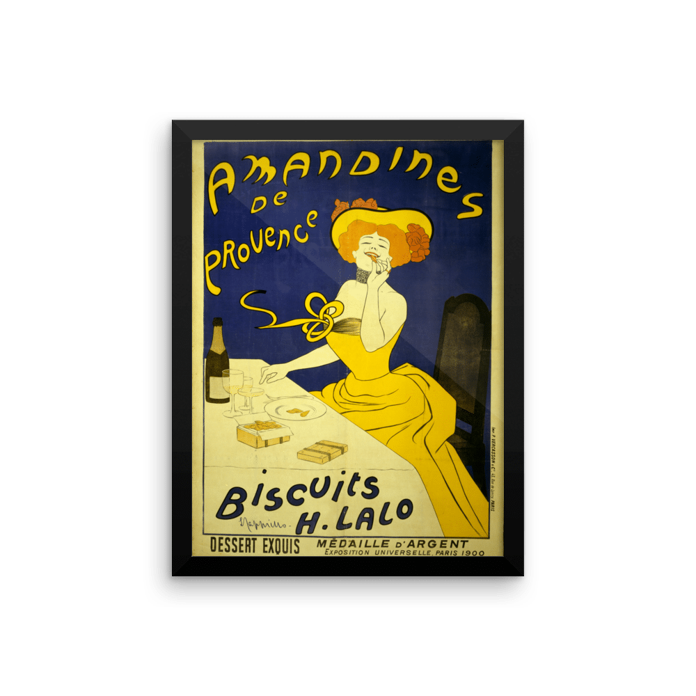 Biscuits France 1900 Poster