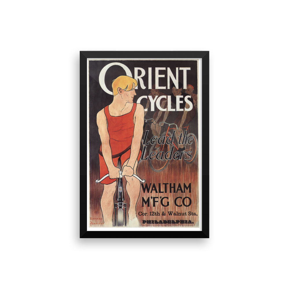 Orient Bicycle Poster