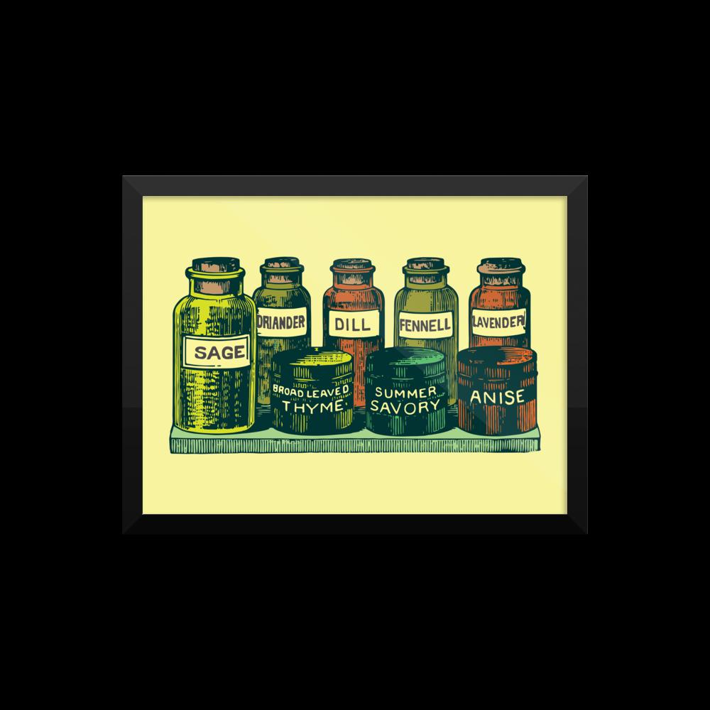 Vintage Condiments