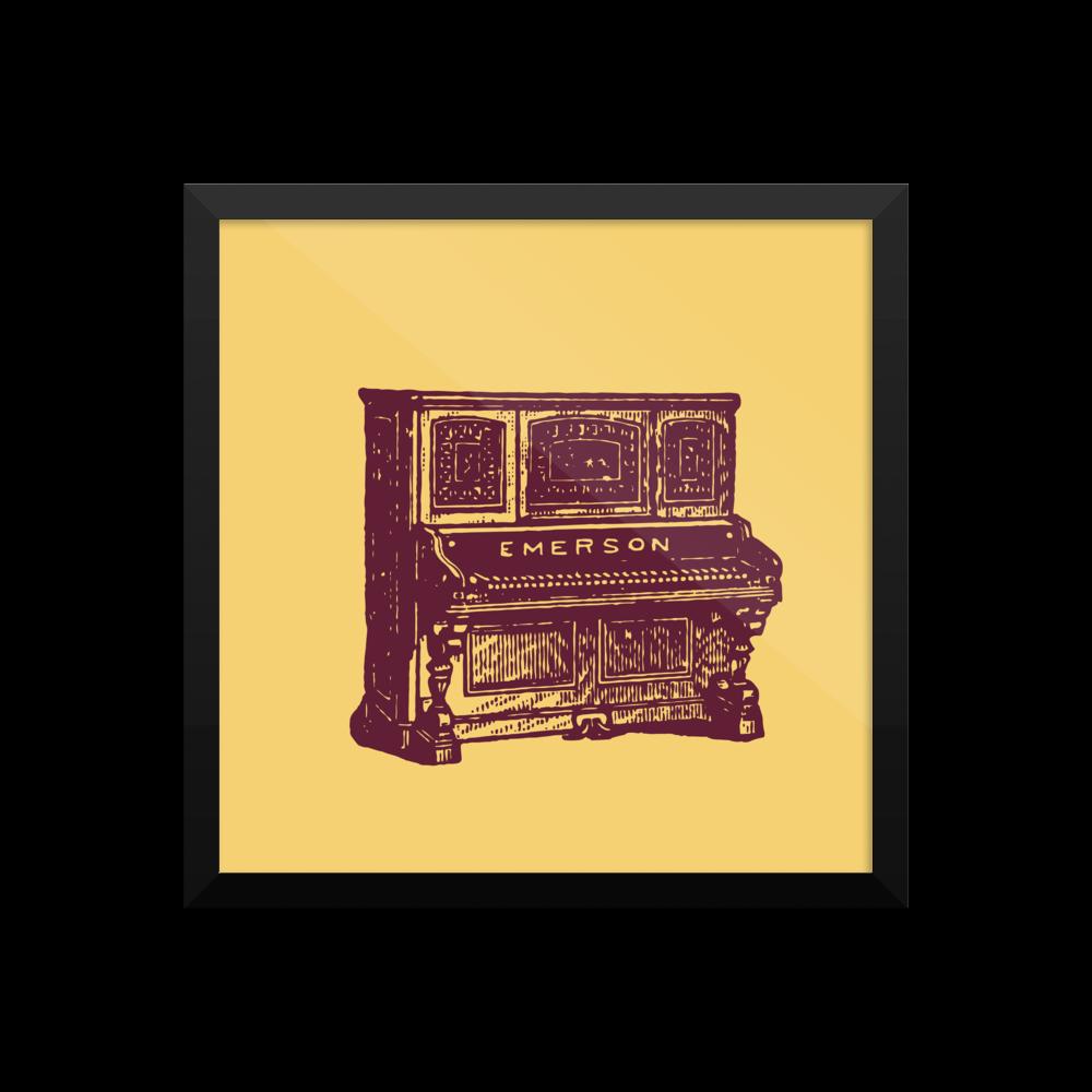 Emerson Piano Poster