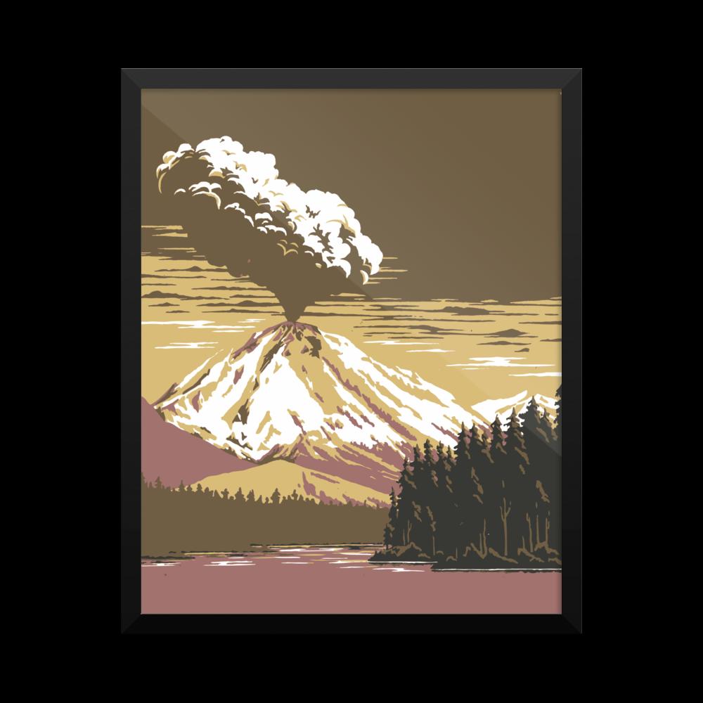 Colorado Rockies Vinage Poster